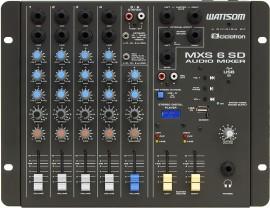 Mesa de Som Ciclotron MXS 6 SD com USB e Controle Remoto
