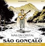 ENCORDOAMENTO  NYLON TENSÃO MÉDIA C/CHENILHA  P/VIOLÃO SÃO GONÇALO