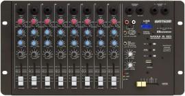 MESA DE SOM 8 CANAIS CICLOTRON MXM-8SD C/USB/CONTROLE REMOTO
