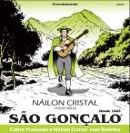 ENCORDOAMENTO  NYLON CRISTAL P/VIOLÃO SÃO GONÇALO