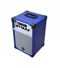 CAIXA DE SOM MULTIUSO LEACS TURBOX TB-200 (azul)
