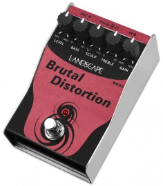 Pedal Distortion Landscape BRD2