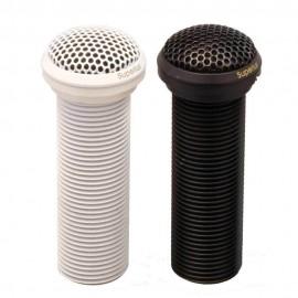MICROFONE OMNI-DIRECIONAL BRANCO P/ EMBUTIR EM MESA SUPER LUX E-324-W
