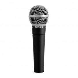 Microfone Superlux Tm 58 Vocal Dinâmico Profissional