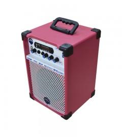 CAIXA DE SOM MULTIUSO LEACS TURBOX TB-300 (pink)